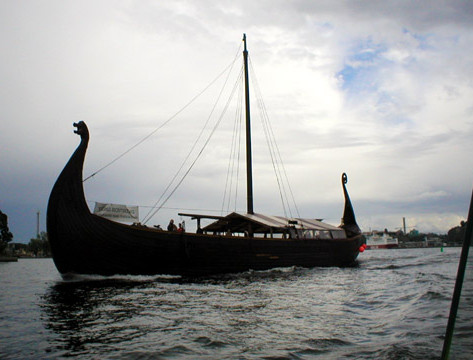 Full Size Viking Ship