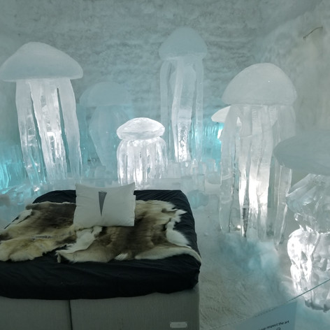 Ice Hotel in Kirun Sweden
