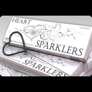 Heart Shaped Sparkler