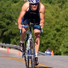 Mike E Hammering the Bike