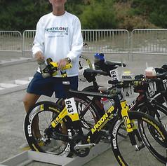 T1 Bike Rack at ITU LC Worlds in Henderson NV