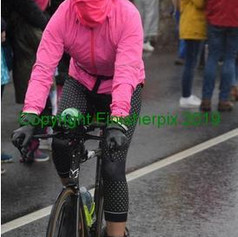 April on Bike Course at IM Cork Ireland