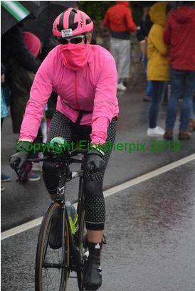April on Bike Course at IM Cork Ireland
