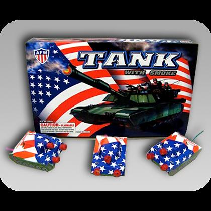 Tank With Smoke