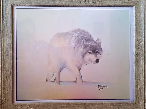 WOLF STALKING (LTD PRINT OF / 5
