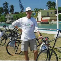 Bike in T1 at Spring Race in Havana
