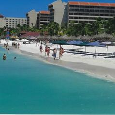 The Beach in Aruba