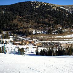 Ski Apache on the Gondola