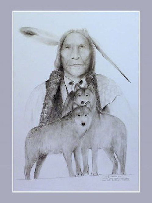 WOLF ROBE (GRAPHITE ORIGINAL)