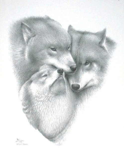 WOLF TRIAD (LTD PRINT)