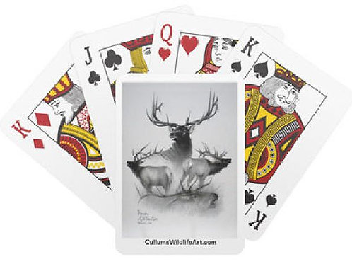REALM OF THE ELK (POKER CARDS)