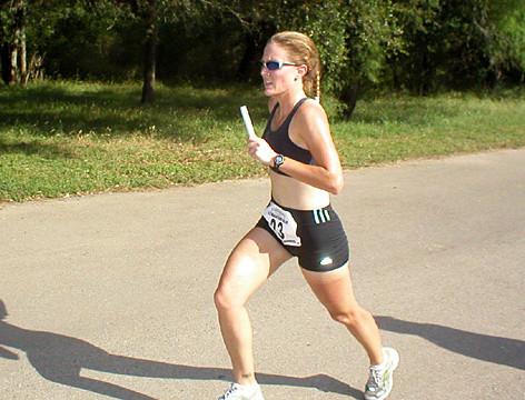 Nichole R During a Track WKO
