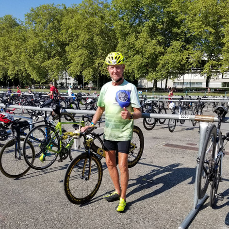 Bike Check in at ITU Olympic Worlds in Lausanne Switzerland 2019