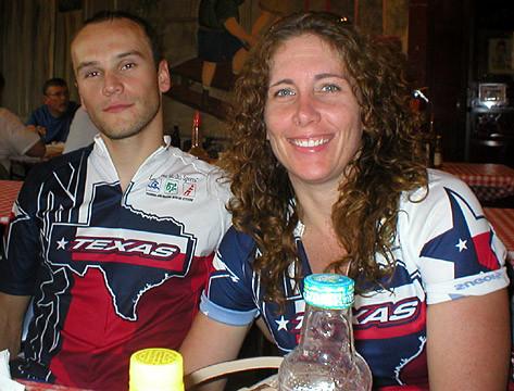 Maciej G and Sun G at Rudy's