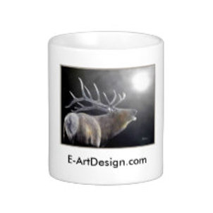 BUGLING ELK MOONSHINE (COFFEE CUP)