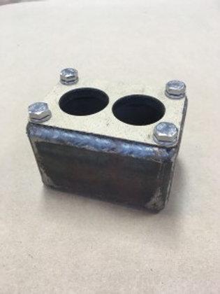 2-Barrel Carb Adapter