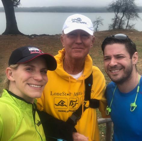April and Jason T at Boerne Lake