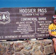 Hoosier Pass on Colorado Ride