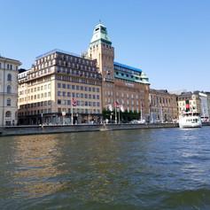 Stockholm Sweden Business District