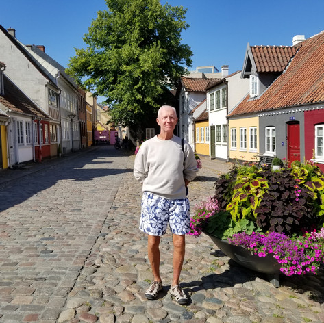 Local Tourist Area in Odense Denark