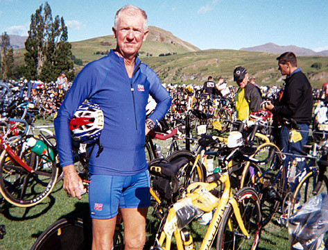 Bike Racks at ITU Worlds in Queenstown NZ
