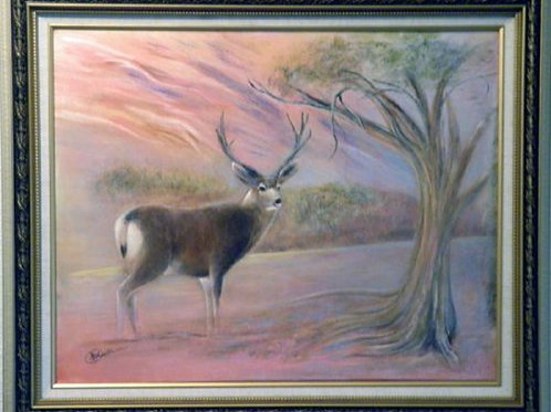 MULEY ON THE MESA (ORIGINAL OIL)