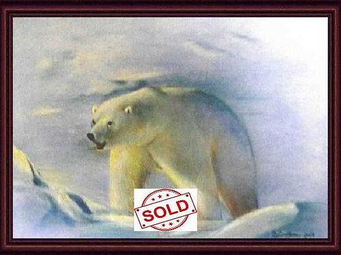POLAR BEAR (ORIGINAL PASTEL)