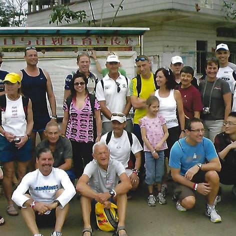 Group of Athletes at IM China