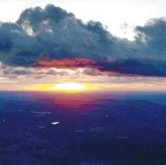 Sunrise at Ski Apache NM