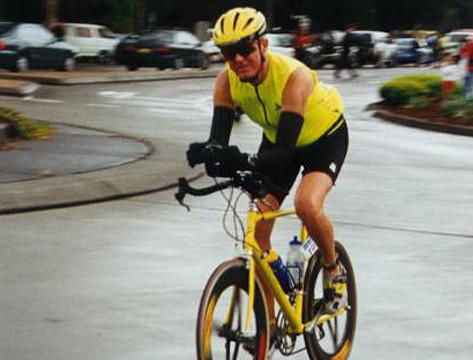 Bike Start at IM Australia 1999