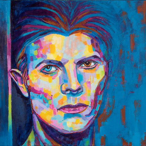 The man who fell to Earth©17 Limited Edition Print