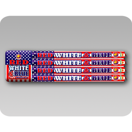 10 Ball Red, White & Blue