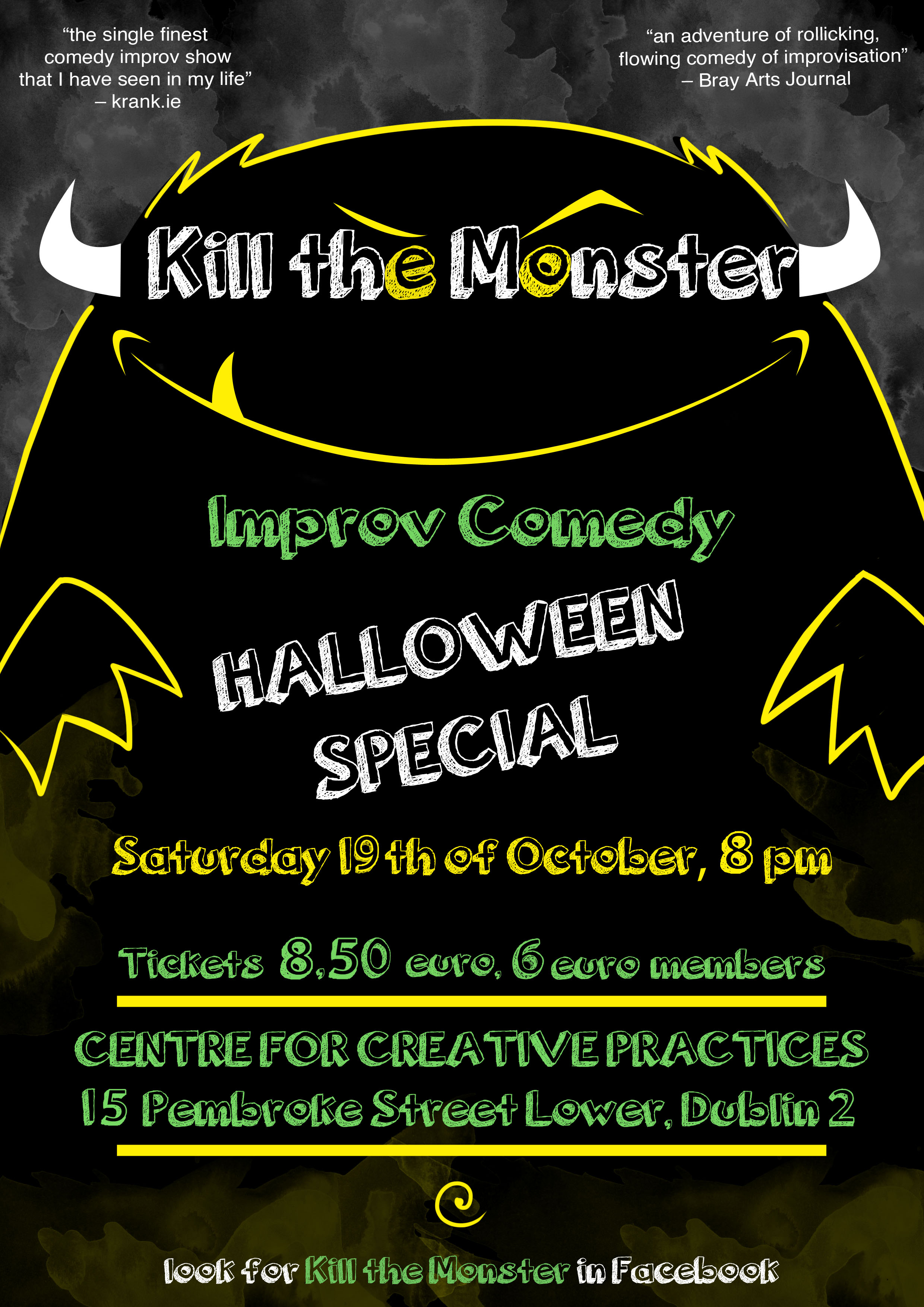 Kill The Monster Halloween