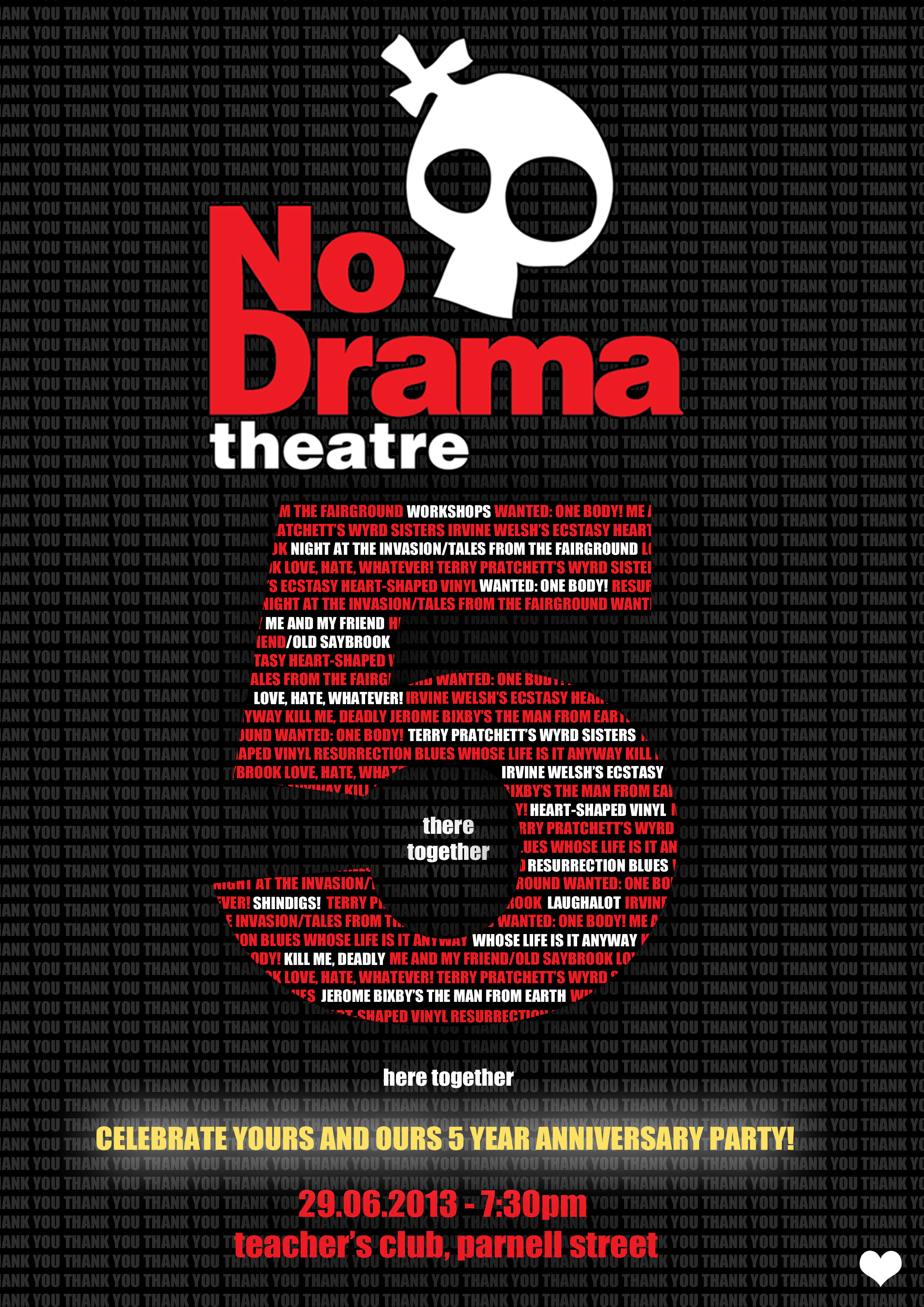 No Drama 5 year Anniversary
