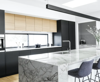 Quartz inspired by marble...