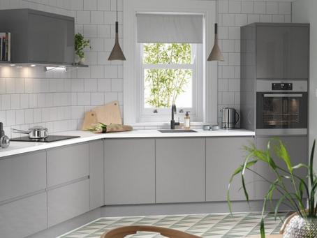 Kitchen upgrade with new doors in Warkworth