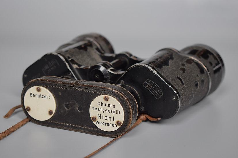 Zeiss 7x50 Kriegsmarine smooth ocular binoculars + early Benutzer
