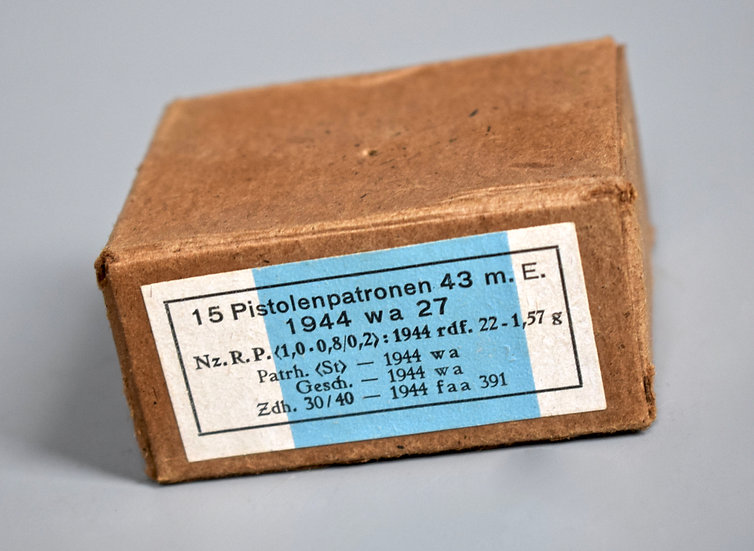 7.92x33mm Kurz ammunition box 'wa 1944'