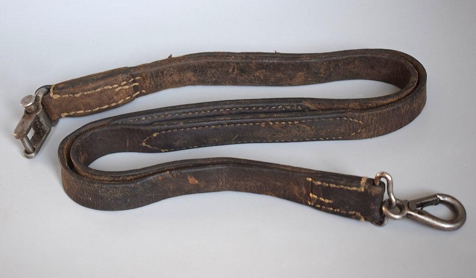 Early MG34 leather sling 'WaA SC'