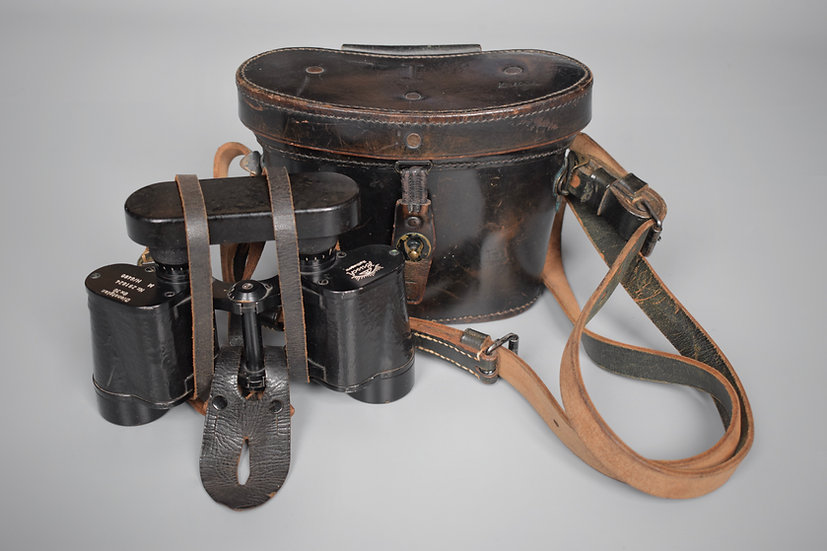 MINT Pre-war 6x30 Dienstglas 'Busch Rathenow' binocular set