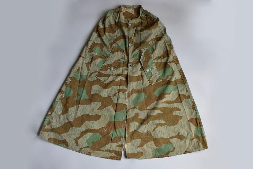 Splittertarn camo field-made rain cape