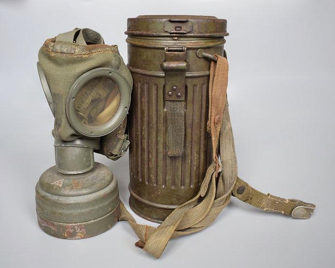 Early-war M30 gas mask set 'osn 1936'