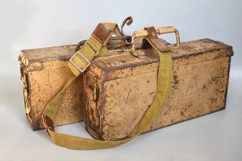 MG34/42 ammo boxes + adapted carry strap