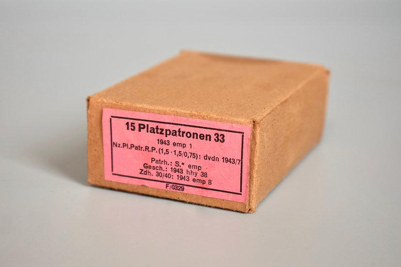 7.92x57mm Platzpatronen 'emp 1943'