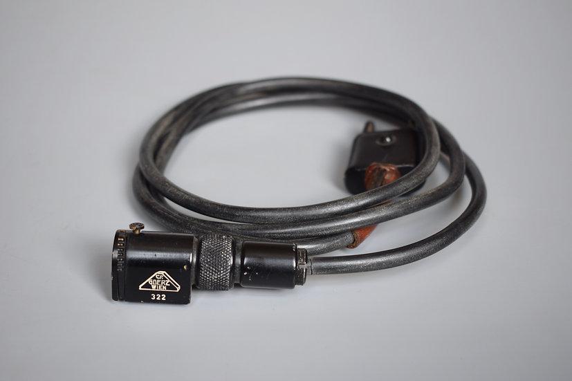Optic lighting cable 'C.P. Goerz Wien'