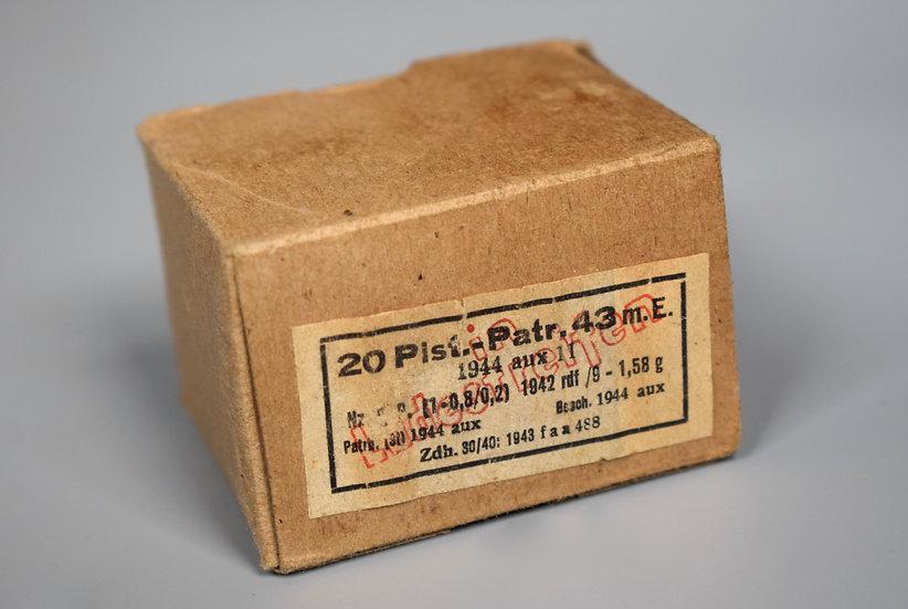 7.92x33mm 20 round Kurz ammunition box 'aux 1944'