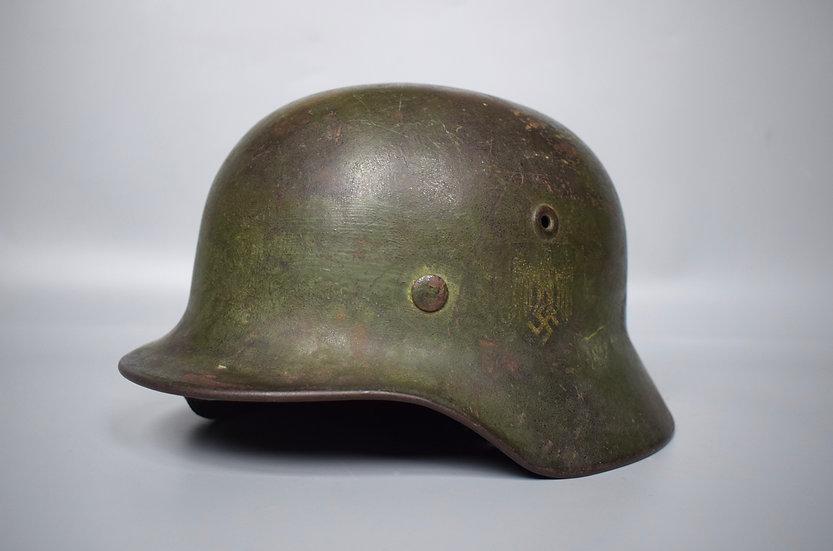 M40 SD Heer camo helmet 'EF62'