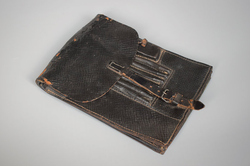 Late-war black map case