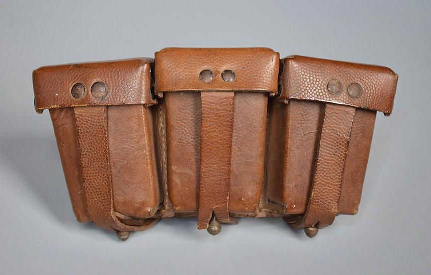 Riveted K98k ammo pouch 'Rahm & Kampmann 1943'