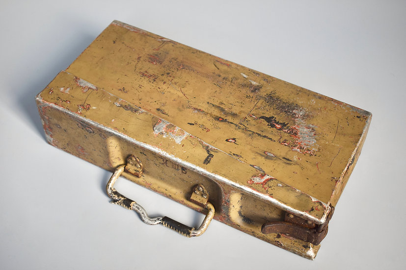 MG34/42 tan camouflage ammo tin 'FWCo 1940'